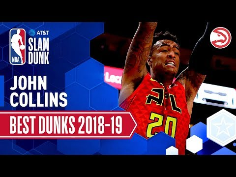 Video: John Collins' Best Dunks of the Season | 2019 AT&T Slam Dunk Participant