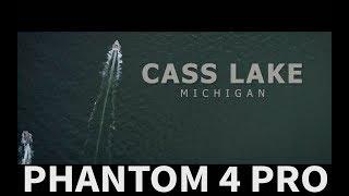 "Drone footage of Cass Lake Michigan taken with phantom 4 pro. My Favorite Drone ""Phantom 4 Pro"":  http://amzn.to/2tTyJpbCheaper option but still great 4k Drone:  http://amzn.to/2utoMAt"