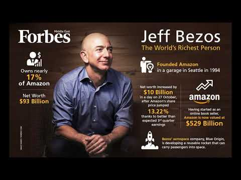 Jeff Bezos Has Already Made About $10 Billion in 2018