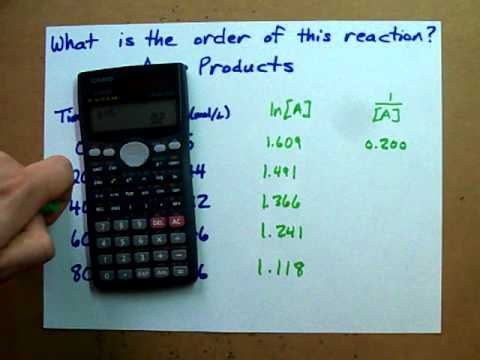 how to prove first order reaction