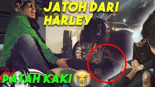 Video ATTA PATAH KAKI Jatoh dari HARLEY 😭 MP3, 3GP, MP4, WEBM, AVI, FLV Juli 2019