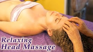 Relaxation Massage Therapy Techniques Head, Upper Body & Scalp by Athena Jezik - YouTube