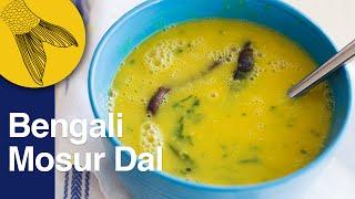 Bengali Masoor Dal   Bengali Dal Recipe