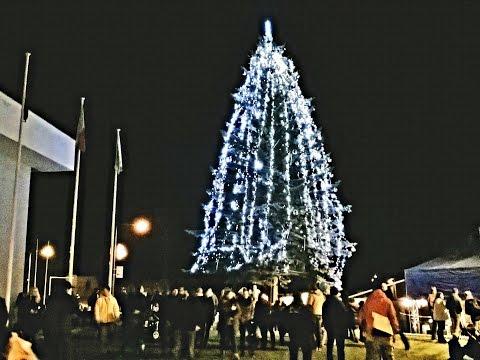 Rozsvěcení vánočního stromu v Milovicích