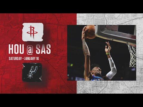 Rockets Highlights l Rockets at Spurs l 1-16-21