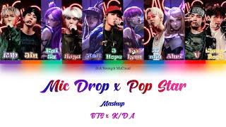 Download Video K/DA x BTS – Pop/Stars & Mic Drop Mashup Lyrics (Color Coded Lyrics Han가사/Rom/Ina) [Sub Indo] MP3 3GP MP4