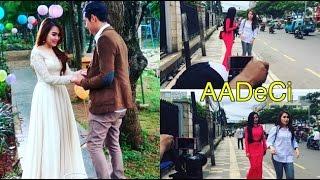 Ini Sosok Cowok Lawan Mainnya, Ayu Ting Ting Syuting Dalam Shooting 'AADeCi',