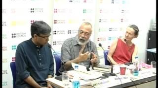 British Council Event with Amit Chaudhuri & Kirsty Gunn