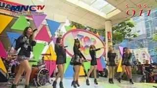 SOS (Sensation Of Stage) - Independent Girl - Drop it low - Winning Award Top Pop MNC TV 130517