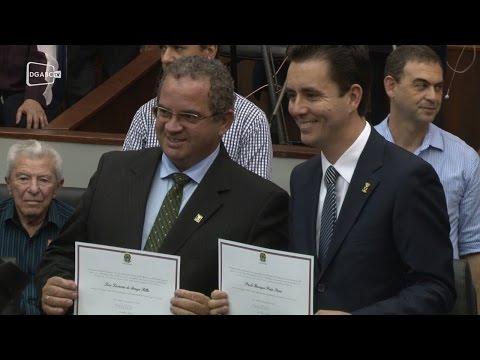 Paulo Serra e vereadores são diplomados