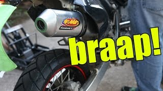 3. FMF PowerCore 4 Install For DRZ400