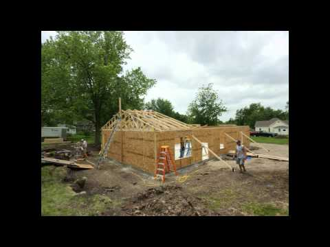 Habitat for Humanity Build - Ravenswood, Missouri