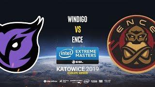 Windigo vs ENCE - IEM Katowice EU Minor - map1 - de_mirage [Strike & Sl4m]