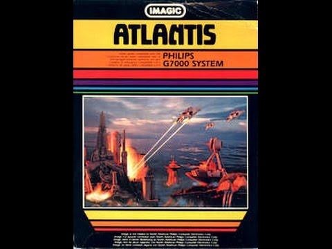 Atlantis | Philips Spielekonsolen | G7000 / G7400 / Videopac / Videopac+