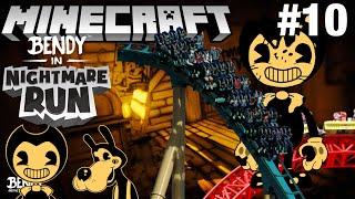 Bendy in Nightmare Run in Minecraft Part 10 - Map Showcase