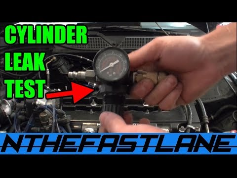 leakdown test how to cylinder leak test how to check