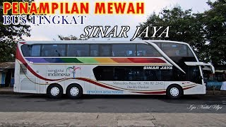 Video TAMPILAN MEWAH Bus Tingkat Pertama milik Sinar Jaya MP3, 3GP, MP4, WEBM, AVI, FLV Juli 2017