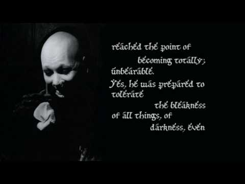 FreakingMe666 - Song: In an Hour Darkly Artist: Sopor Aeternus & the Ensemble of Shadows Album: Flowers in Formaldehyde with timed lyrics.