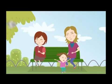 Niños y niñas sanos