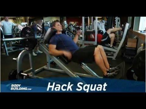 Exercitiu Hack Squat