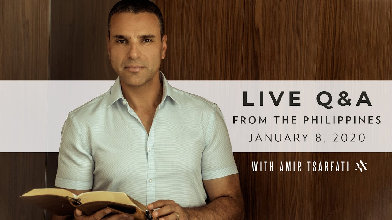 Amir Tsarfati: Live Q & A