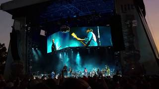 Arcade Fire at Festival Pier, Philadelphia, PA on July 19, 2018