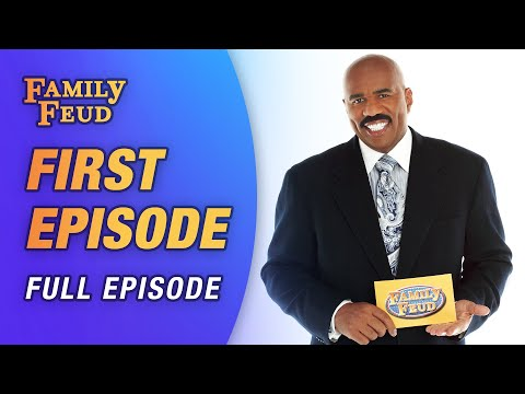 Steve Harvey's first time hosting Family Feud! (Full Episode)