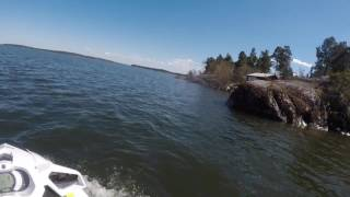 4. Test driving the 2017 Sea Doo GTI 90