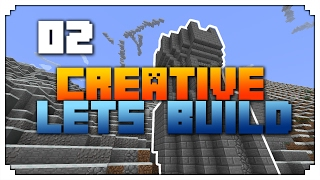 •Minecraft Lets Build: CASTLE BUILD! (Episode 2)•