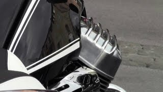 5. 2013 Moto Guzzi California 1400 Touring sound and review teaser