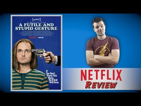 A Futile and Stupid Gesture Netflix Review