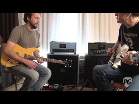 Marc Ford Signature Model Demoed by Marc Ford