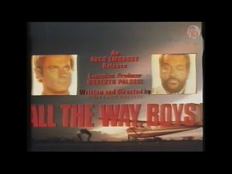 All The Way Boys (1972) - VHS Trailer [Embassy Entertainment]