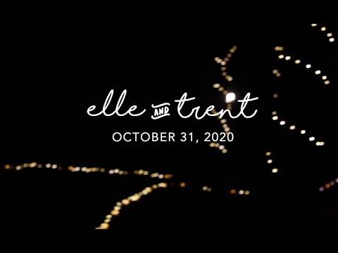 Elle + Trent   October 31, 2020   Second Star Creative