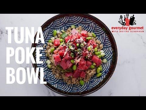 Tuna Poke Bowls