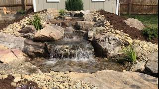 Pondless Waterfall in Charlotte, NC