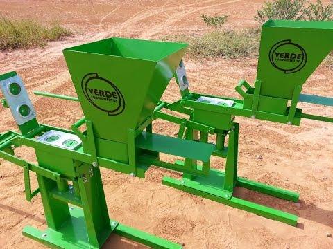 Máquina de tijolo ecologico