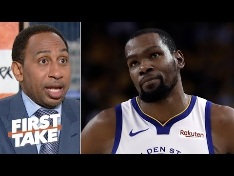 Having Kevin Durant is the only way the Warriors will beat the Bucks – Stephen A. | First Take