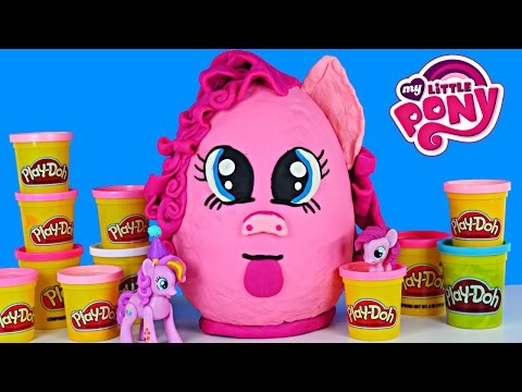 GIANT EGG MY LITTLE PONY PLAY DOH SURPRISE Frozen Shopkins Hello Kitty Zelfs Fashems