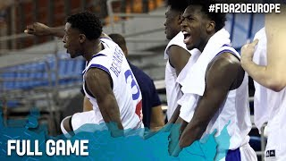 Full Game France v Turkey at the FIBA U20 European Championship 2017. ▻▻ Subscribe: http://fiba.com/subYT Click here for more: ...