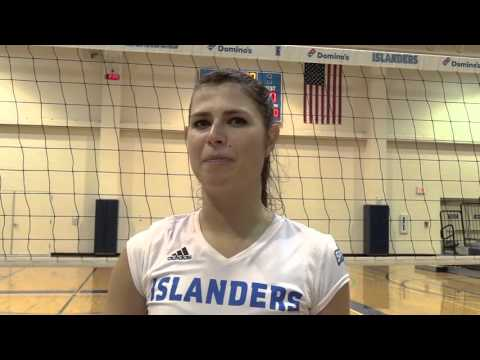 Islander Volleyball Sweeps Lamar 3-0