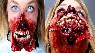 maquillage halloween Maquillage Zombie Sur EnjoyPhoenix
