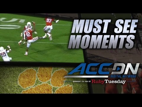 Stephone Anthony one-handed interception vs Syracuse 2014 video.