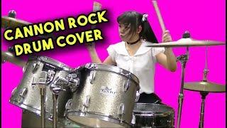 CEWEK GILA MAIN DRUM COVER CANON ROCK KEREN!!!