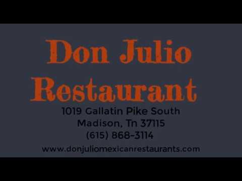 Nashville Mexican Restaurant - Don Julio Mexican Restaurant | Madison Tn Restaurant