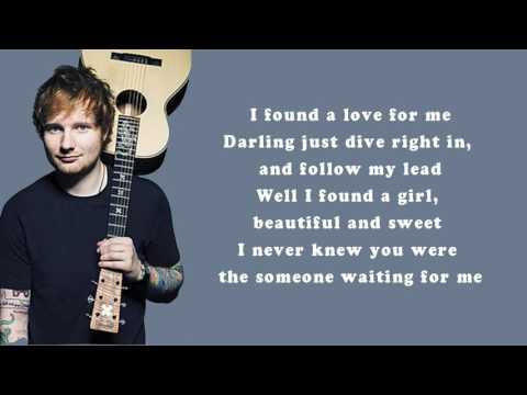 Ed sheeran - perfect (lyrics) HD