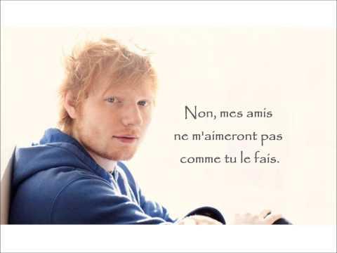 Video Ed Sheeran - Friends (French lyrics) download in MP3, 3GP, MP4, WEBM, AVI, FLV January 2017