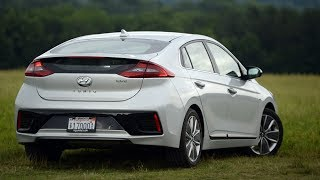 Boston Herald Carsmart review of the 2017 Hyundai Ioniq hybrid. The Ioniq with 59 miles per gallon in fuel economy presents a solid alternative to Toyota's Prius. Staff video by Christopher Evans