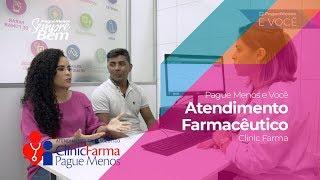 Pague Menos e Você - Atendimento Farmacêutico Clinic Farma
