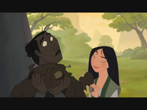 Mulan 2 - Mushu's attempts to break up a happy couple